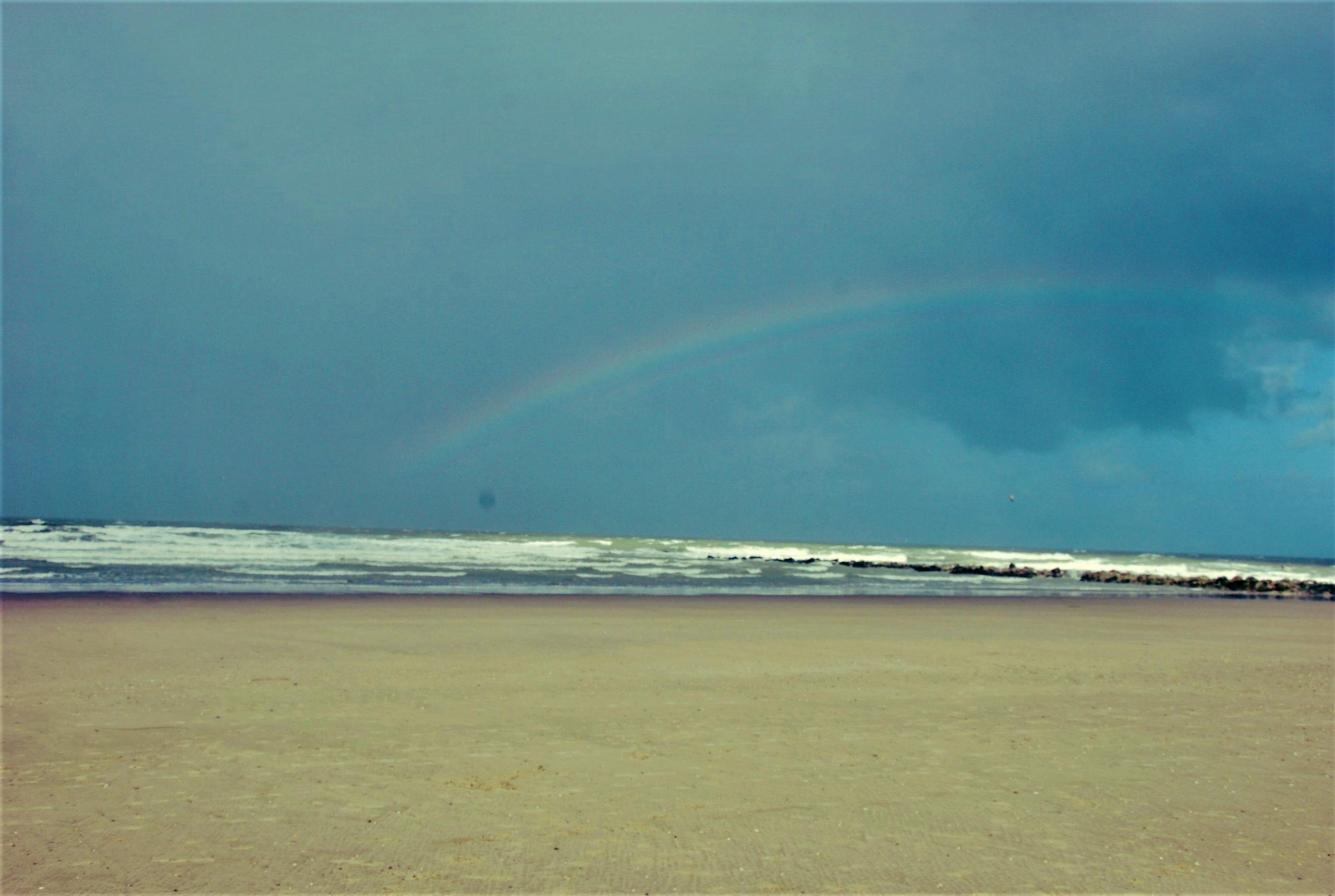Foto van een regenboog